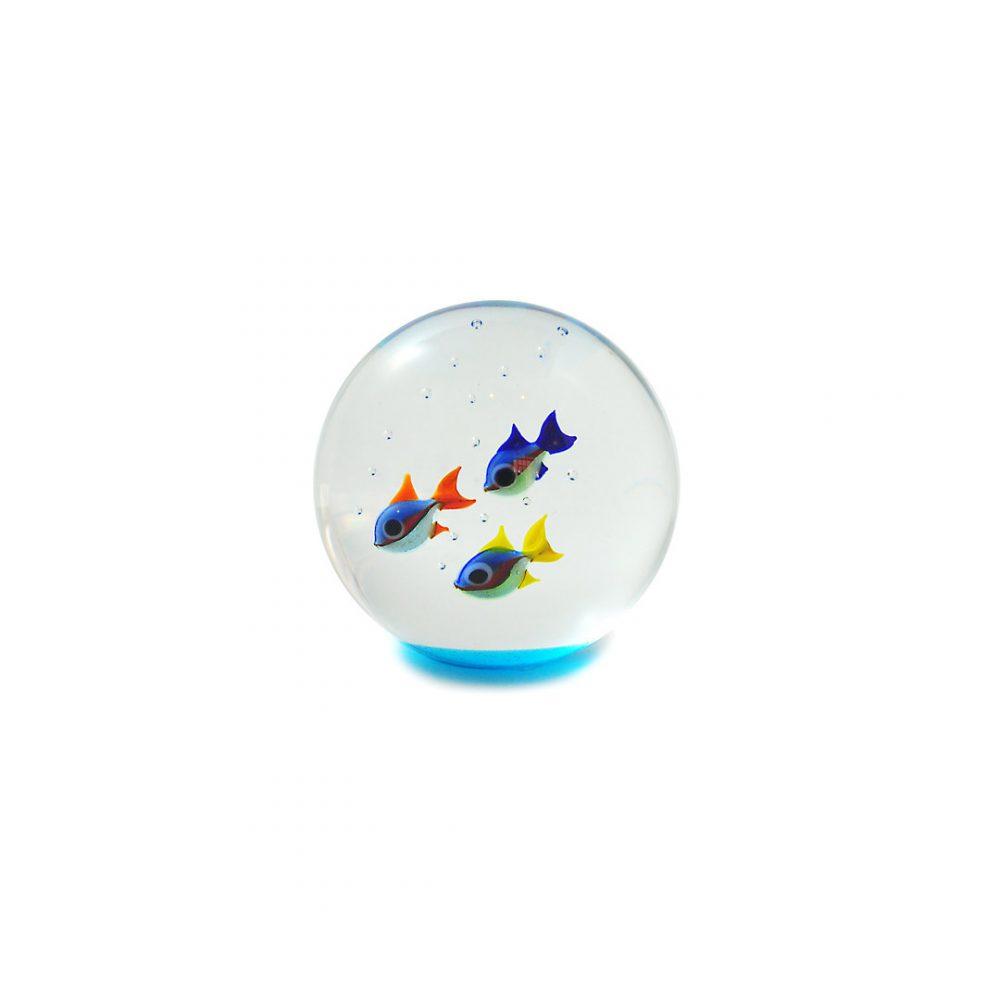Sfera in vetro di Murano