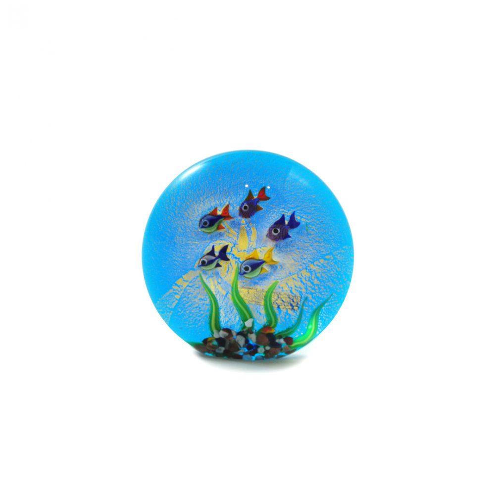 Fermacarte in vetro di Murano
