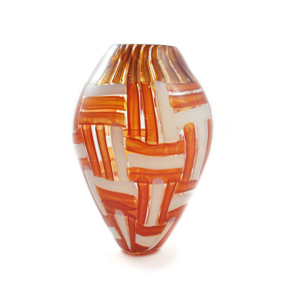 Vaso Cimarosto in vetro di Murano